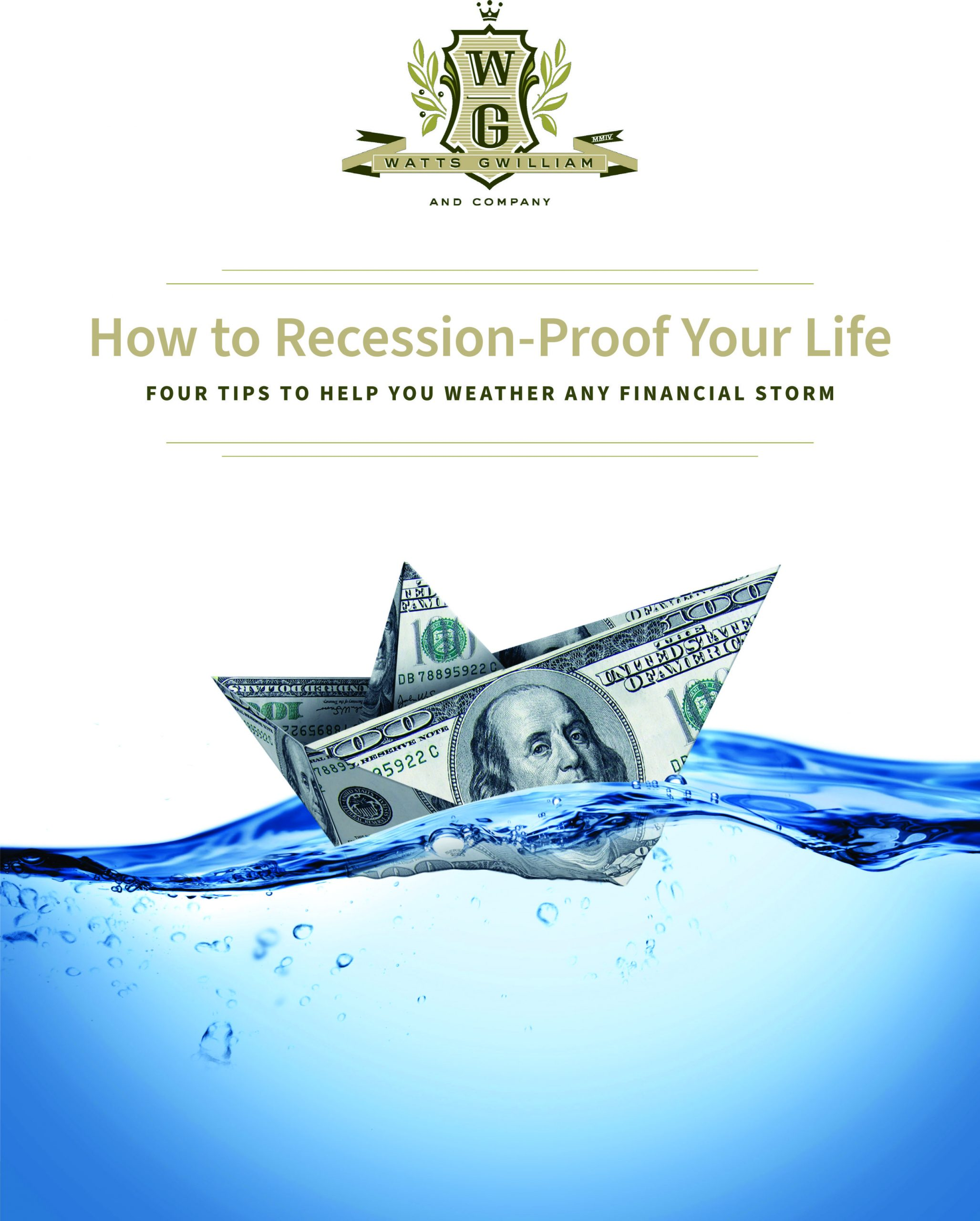 Download our Free ebook: How to Recession-Proof Your Life